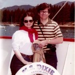 Ron and I have always loved travel. Here we are on  trip to Lake Tahoe...a few years ago.