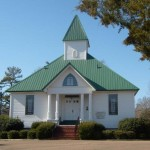 This is the Presbyterian church I attended growing up. My dad built and installed an earlier version of the steeple.